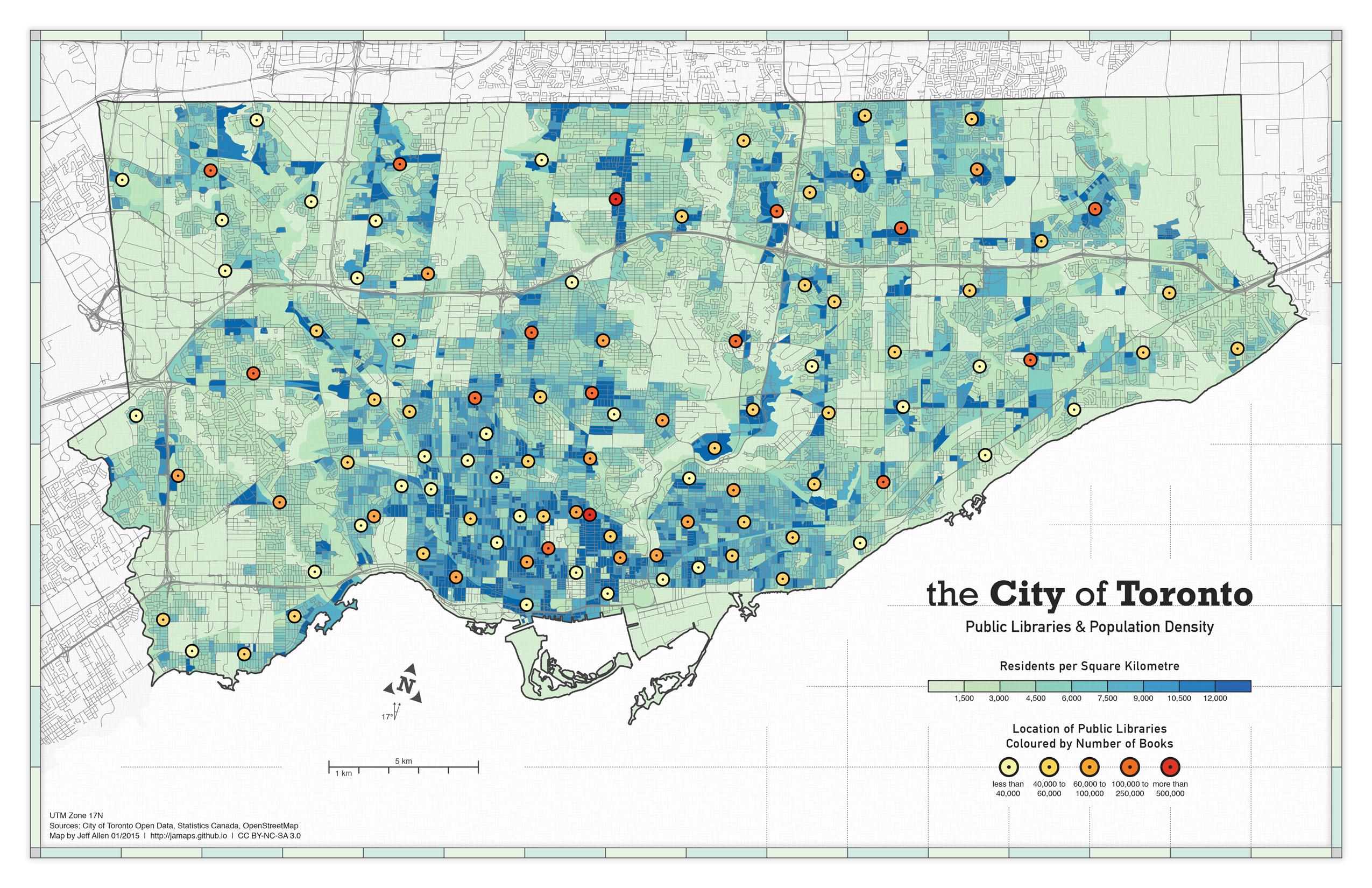 Jeff Allen Maps - Map of colorado population density